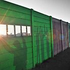 Strand - Graffiti Wall at Sunset by Rhys Herbert