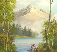 Misty Mountain Splendor by Vivian Eagleson