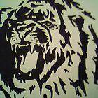 lion tattoos by fernandozart