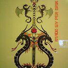 the sword of dragoons by fernandozart