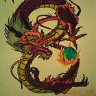 dragons by fernandozart