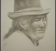 Old Bolivian Woman by Noel78