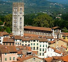 Tuscan Rooftops - Lucca, Toscana by Lorna81