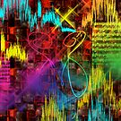 Don't Stop The Music - Abstract by haya1812