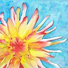 Tie-Dye Dahlia by Ken Powers