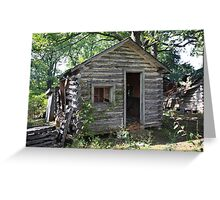 Route 66 - John's Modern Cabins Greeting Card