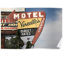 Route 66 - Vernelle's Motel Poster