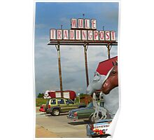 Route 66 - Mule Trading Post Poster