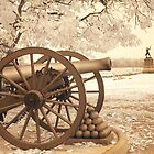 The gun that held the line at Pickette's Charge at Gettysburg. by ©  Paul W. Faust