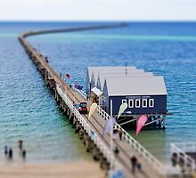 Tilt-shift: Busselton Jetty by Martin Pot