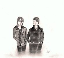 Tegan and Sara Quinn by InkyDreamz