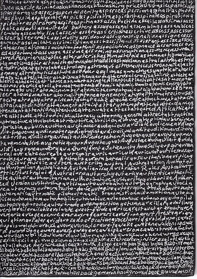 """""""Dictionary 4"""" (ashes-background music) by Michelle Lee Willsmore"""