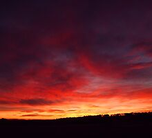 Clouds Roll in for a Country Sunrise by Greg Toole