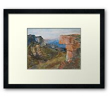 Kanangra-Boyd National Park, Australia Framed Print