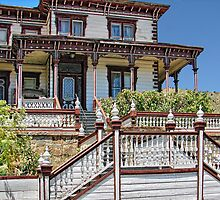 Victorian House...Virginia City, NV by pat gamwell