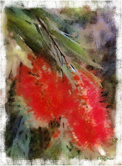 Bottle Brush by Kenneth Hoffman