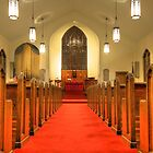 St. Peter's Evangelical Lutheran Church by Sharon Batdorf
