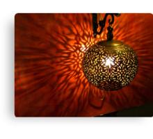 Moroccan Lantern Canvas Print