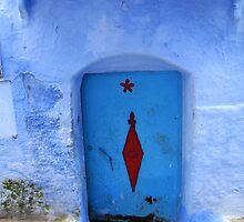 Door - Chefchaouen - Morocco by Jamie Alexander