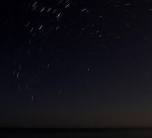 10 minutes with Polaris (Star Trail) by Ben Luck