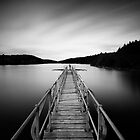 Platform - Kennick Reservoir by Keith  Aggett