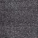 """""""Dictionary 15"""" (crossbar-deathbed) by Michelle Lee Willsmore"""