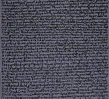 """Dictionary 25"" (goblin-grogram) by Michelle Lee Willsmore"