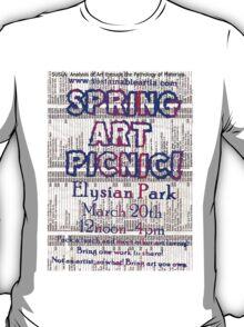 Spring Art Picnic 2011 T-Shirt