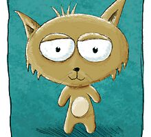 Teddy Cat by RedLlama