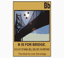 B IS FOR BRIDGE by SOL  SKETCHES™