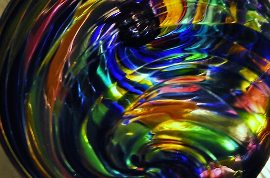 Glass Ball - Sideview by MaryLynn
