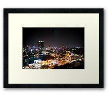 Saigon By Night Framed Print