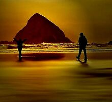 GOLD BEACH.....Having Fun~ by RoseMarie747