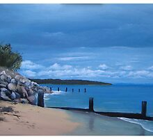 """Storm on Port Phillip Bay"" by Tom Martin"