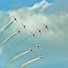 The Red Arrows by Catherine Hamilton-Veal  ©