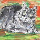 Smalls (My Cat) by Jennifer Ingram