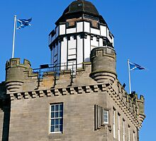 Outlook Tower & Camera Obscura, Edinburgh, Scotland, UK. by David A. L. Davies