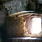 Illumination Through An Old Fort Window by Janis Lee Colon