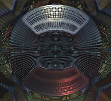 Flying Saucer Repair Facility  by James Brotherton