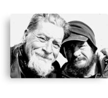 Homeless Best Friends Canvas Print