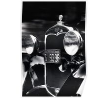 1930 Model A Coup Poster