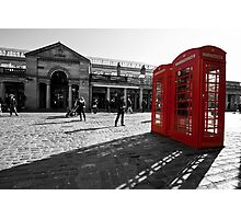 The Red Box Photographic Print
