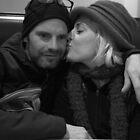 Mama Kissing Papa by Chris Price
