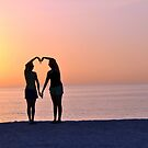 Heart Silhouette by Kim McClain Gregal