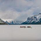 Lake Minnewanka by litmusound