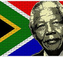 NELSON MANDELA-SOUTH AFRICA by OTIS PORRITT