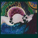 Gaia sleeping by Pam Buffery