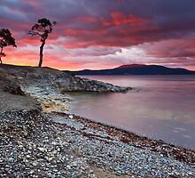 Sunrise Near Ninepin Point, Tasmania #7 by Chris Cobern
