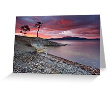 Sunrise Near Ninepin Point, Tasmania #7 Greeting Card