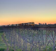Freight Train by Robert  Welsh